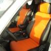 Оранжевые автомобильные чехлы для Nissan Juke Фото 6