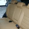 Бежевые авточехлы из экокожи для Nissan Qashqai №10