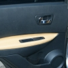 Бежевые авточехлы из экокожи для Nissan Qashqai №11