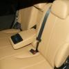 Бежевые авточехлы уровня перетяжки салона Nissan Tiida №5