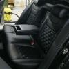 Чехлы для Skoda Octavia A7 из экокожи с отстрочкой двойной ромб №9