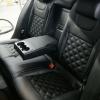 Чехлы для Skoda Octavia A7 из экокожи с отстрочкой двойной ромб №10