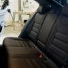 Чехлы для  Skoda Octavia A7 из темно-коричневой экокожи с двойной отстрочкой №5