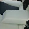 Авточехлы из черно-белой экокожи для Opel Astra H №5