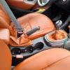 Чехлы для Opel Astra J из коричневой  экокожи с ромбом №2