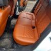 Чехлы для Opel Astra J из коричневой  экокожи с ромбом №8
