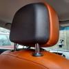 Чехлы для Opel Astra J из коричневой  экокожи с ромбом №13