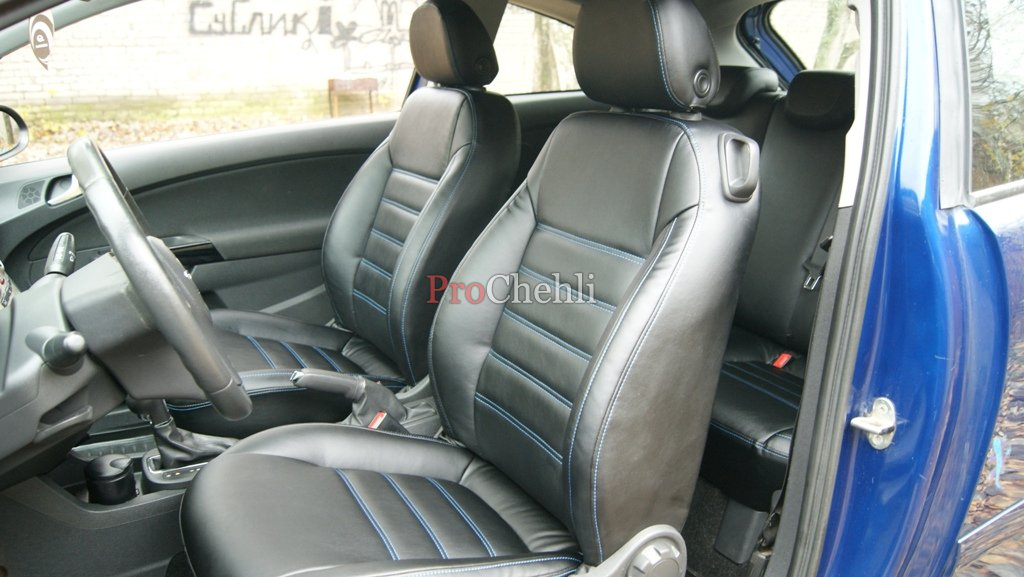Авточехлы для Opel Corsa D - 1avtochehol.ru