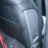 Черные авточехлы с перфорацией для Opel Vectra C №5