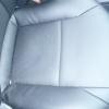 Черные авточехлы с перфорацией для Opel Vectra C №9