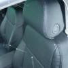 Черные авточехлы с перфорацией для Opel Vectra C №10