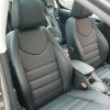 Авточехлы из черной экокожи для Peugeot 308 №11