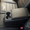 Чехлы для Renault Koleos из черной экокожи №12