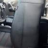 Чехлы для Renault Koleos из черной экокожи №4