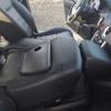 Чехлы для Renault Koleos из черной экокожи №5