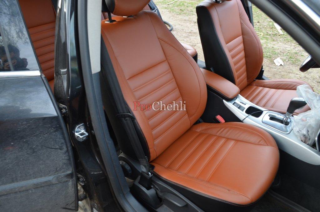 Авточехлы из экокожи на Рено Лагуна 2 Renault Laguna 2 c