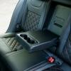 Чехлы для Skoda Octavia A7 из черной  экокожи с ромбом №6