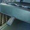 Чехлы для Skoda Octavia A7 из черной  экокожи с ромбом №7