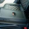Чехлы для Skoda Octavia A7 из черной  экокожи с ромбом №8