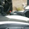 Черно-белые авточехлы с белой строчкой для Skoda Octavia A5 №7