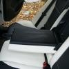 Черно-белые авточехлы с белой строчкой для Skoda Octavia A5 №12