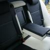 Черно-белые авточехлы с белой строчкой для Skoda Octavia A5 №15