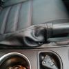 Черные чехлы с красной строчкой для Subaru Outback / Legacy №1
