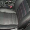 Черные чехлы с красной строчкой для Subaru Outback / Legacy №5