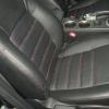 Черные чехлы с красной строчкой для Subaru Outback / Legacy №6