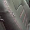 Черные чехлы с красной строчкой для Subaru Outback / Legacy №7