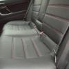 Черные чехлы с красной строчкой для Subaru Outback / Legacy №9