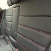 Черные чехлы с красной строчкой для Subaru Outback / Legacy №10