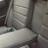 Черные чехлы с красной строчкой для Subaru Outback / Legacy №11