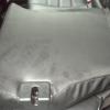 Черные чехлы с красной строчкой для Subaru Outback / Legacy №13