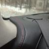 Черные чехлы с красной строчкой для Subaru Outback / Legacy №18