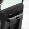Черные авточехлы с красной строчкой для Suzuki Grand Vitara №1