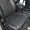 Черные авточехлы с красной строчкой для Suzuki Grand Vitara №2
