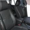 Черные авточехлы с красной строчкой для Suzuki Grand Vitara №3