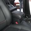 Черные авточехлы с красной строчкой для Suzuki Grand Vitara №5
