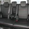 Черные авточехлы с красной строчкой для Suzuki Grand Vitara №6