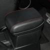 Черные авточехлы с красной строчкой для Suzuki Grand Vitara №9