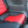 Красно-черные авточехлы для Toyota Сelika №8