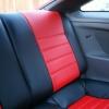 Красно-черные авточехлы для Toyota Сelika №9