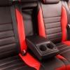 Чехлы для Toyota Auris из черной и красной экокожи №4