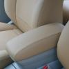 Бежевые авточехлы из экокожи для Toyota Avensis №1