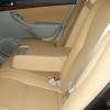 Бежевые авточехлы из экокожи для Toyota Avensis №12