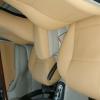 Бежевые авточехлы из экокожи для Toyota Avensis №14