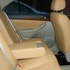 Бежевые авточехлы из экокожи для Toyota Avensis №15