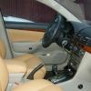 Бежевые авточехлы из экокожи для Toyota Avensis №17