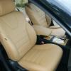 Бежевые авточехлы для сидений Toyota Camry №3